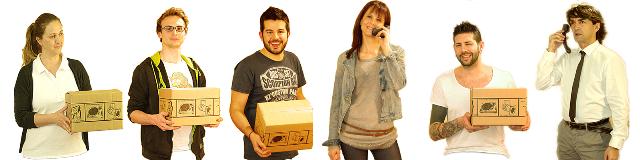 negozio on-line vendita audio