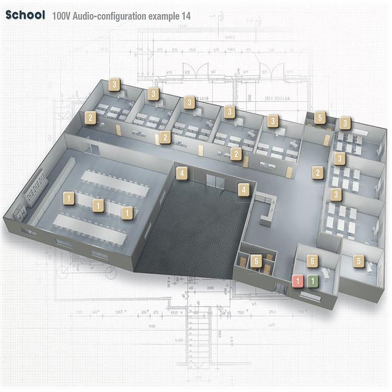 Impianti filodiffusione scuole,aule,edifici scolastici