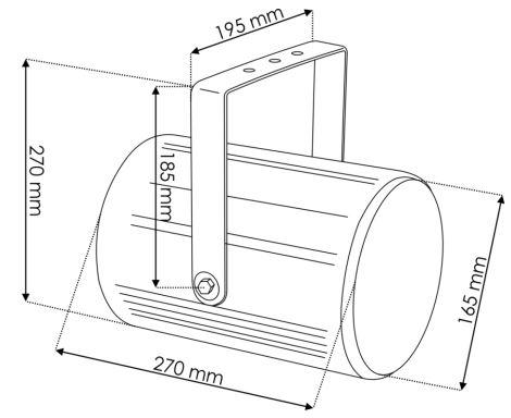 proiettore sonoro per diffusione unidirezionale