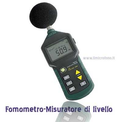 Audio Digital Sound Level Meter
