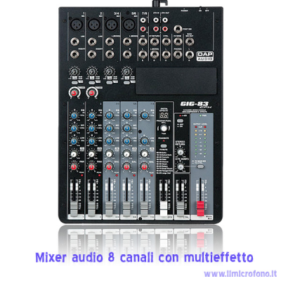 Mixer con effetto prezzo di vendita