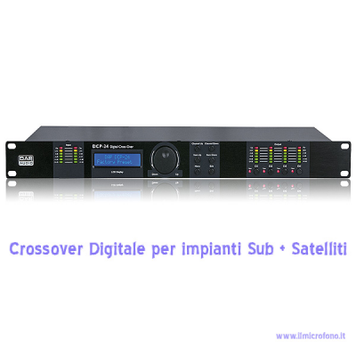 DCP-24 MKII Digital Cross Over