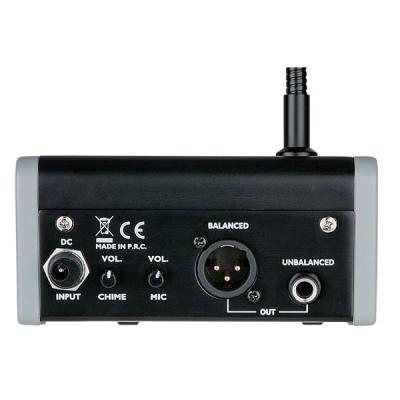 Microfono da Tavolo con basetta ed interruttore per relatore.