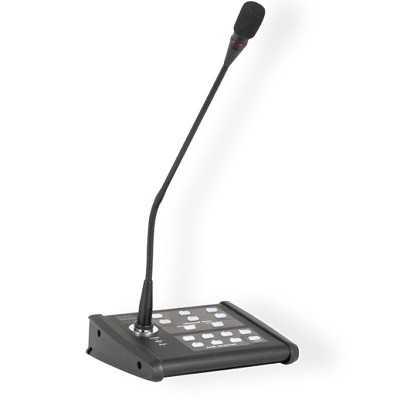 base microfono per annuci