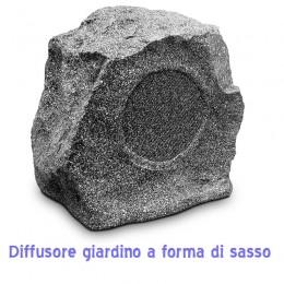 diffusore a forma di sasso pietra da giardino
