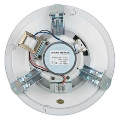 Altoparlanti da incasso in cartongesso da 6 watt in 100 volt.