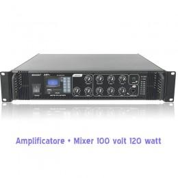 amplificatore per negozi,bar,100 volt