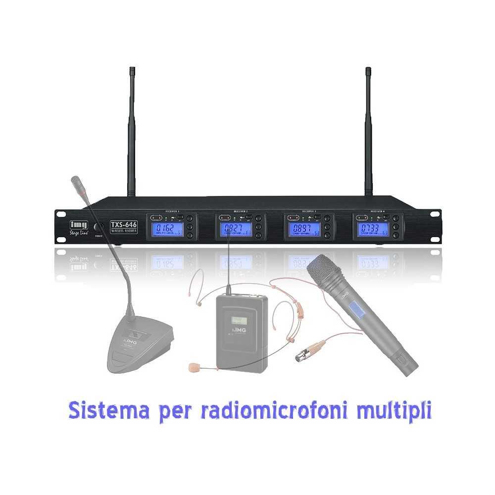 kit per radiomicrofoni multipli