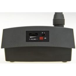 Impianto per conferenze wireless:la basetta microfonica senza fili
