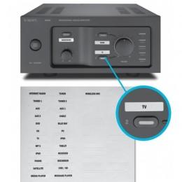 Amplificatore Stereo per musica diffusa in bar o negozi