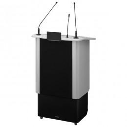 podio leggio amplificato portatile