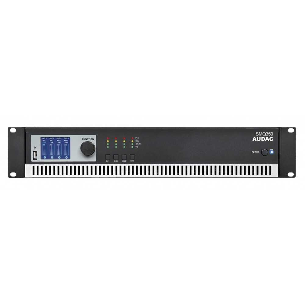 amplificatore quad channel audac SMQ350