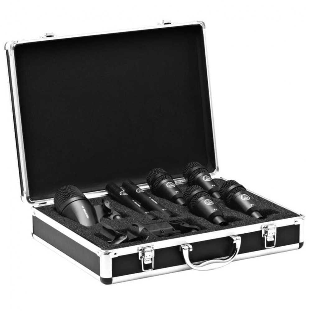 Il Drum Set Session I e uno starter kit di microfoni ad alte prestazioni. Puo essere utilizzato per la ripresa di percussioni, a