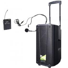 impianto portatile a batteria www.ilmicrofono.it