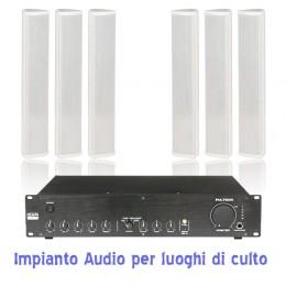 impianto audio chiesa