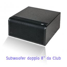 Impianto amplificazione per Disco Club per controllo di volume