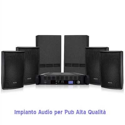Impianto Audio Disco Club Clubset