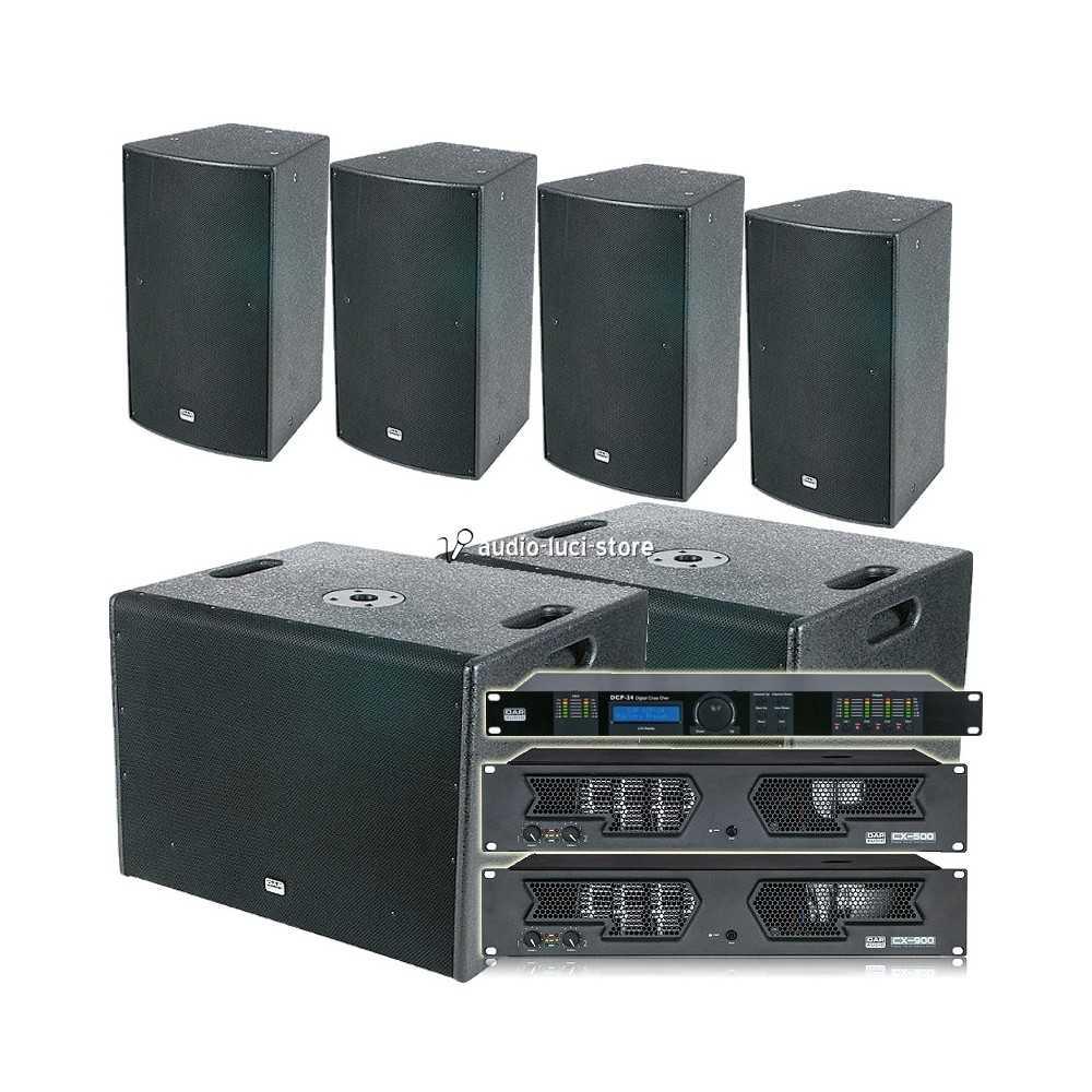 impianto audio discoteca
