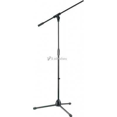 piantana microfono metallo