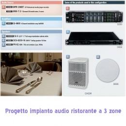 Progettazione impianti audio negozi