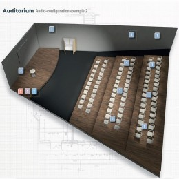 progettazione impianto audio auditorium