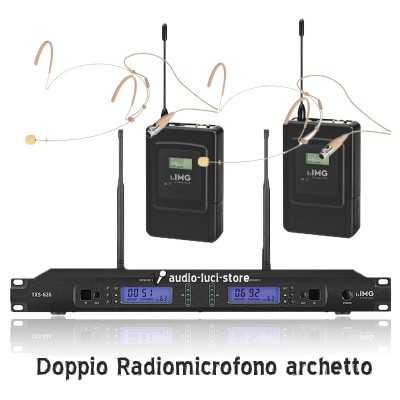 doppio radiomicrofono gelato