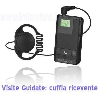 Sistema radio per visite guidate