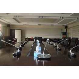 impianto microfonico per congressi wireless