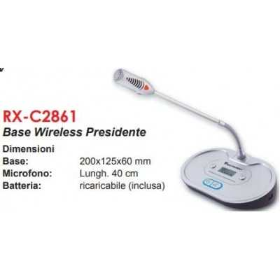 base microfono wireless