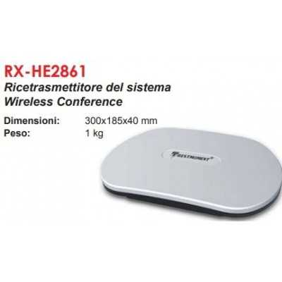 impianto microfono congressuale wireless