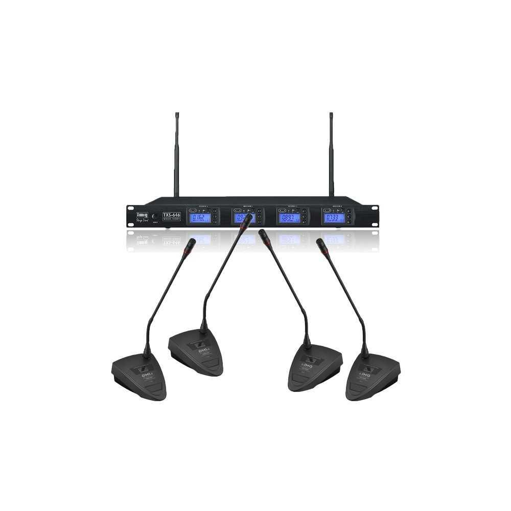 Microfoni da tavolo wireless senza fili