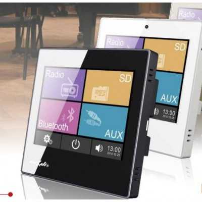 amplificatore incasso touch screen