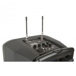 impianto audio a batteria