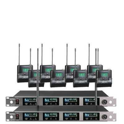 Sistema da 8 radiomicrofoni