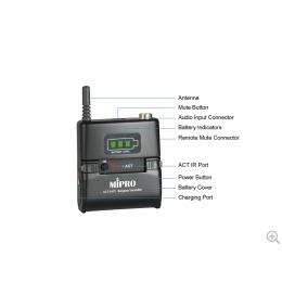 ACT-24TC Trasmettitore Bodypack digitale