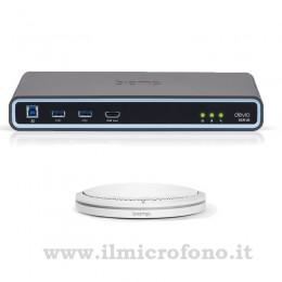 Microfono videoconferenza professionale