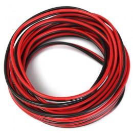 Lithe Audio Cavo diffusori (rosso/nero) 18GA, lunghezza 10 metri