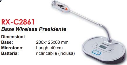 base microfono wireless