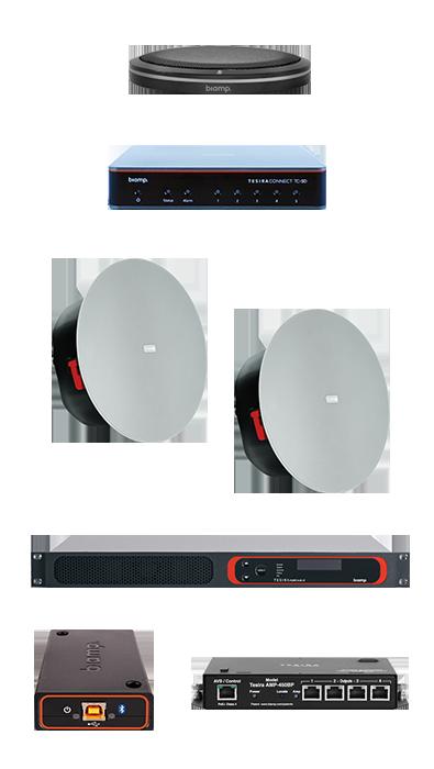 sistema videoconferenza audio