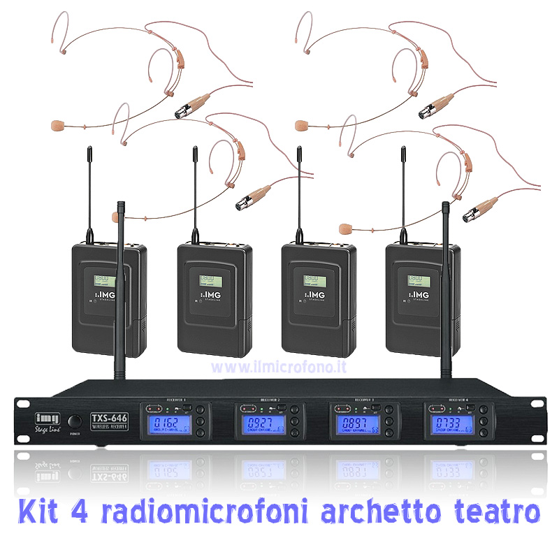 radiomicrofoni per teatro