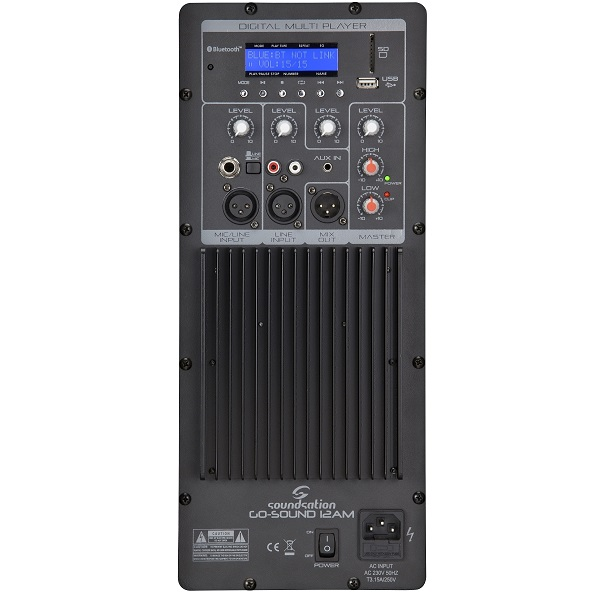 amplificatore portatile a batterie