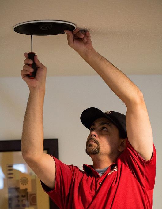 Installazione casse cartongesso soffitto